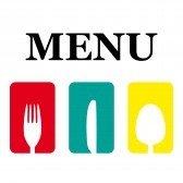 silverware representing your menu